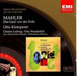 mahler das lied von der erde klemperer emi jq classical cd reviews jun 2003 musicweb uk