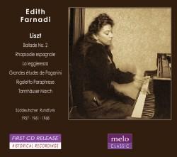 Edith Farnadi - Franz Liszt - Concerto